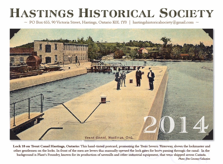 Hastings Historical Society 2014 Calendar